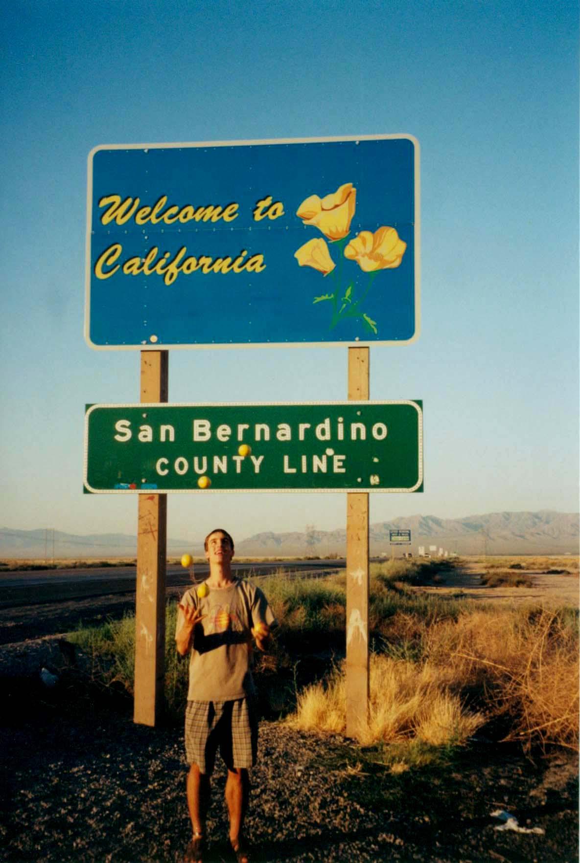 California Fromnevada I 15 July 1998