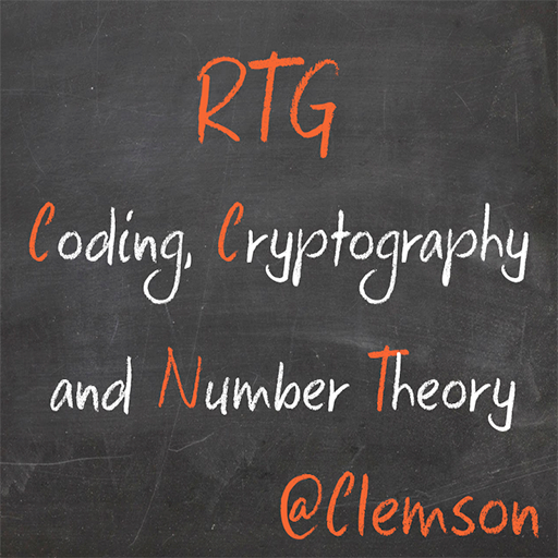 RTG – Coding, Cryptography and Number Theory